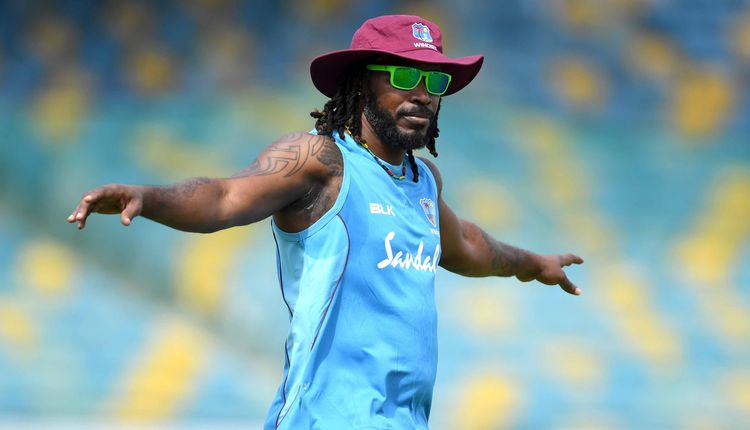 Gayle has scored 9,727 runs and taken 165 wickets
