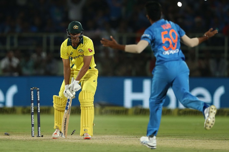 India Australia T20I Virat Kohli Rohit Sharma MS Dhoni Jasprit Bumrah