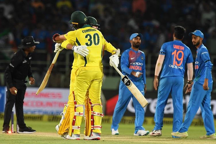 Australia India T20I Bengaluru