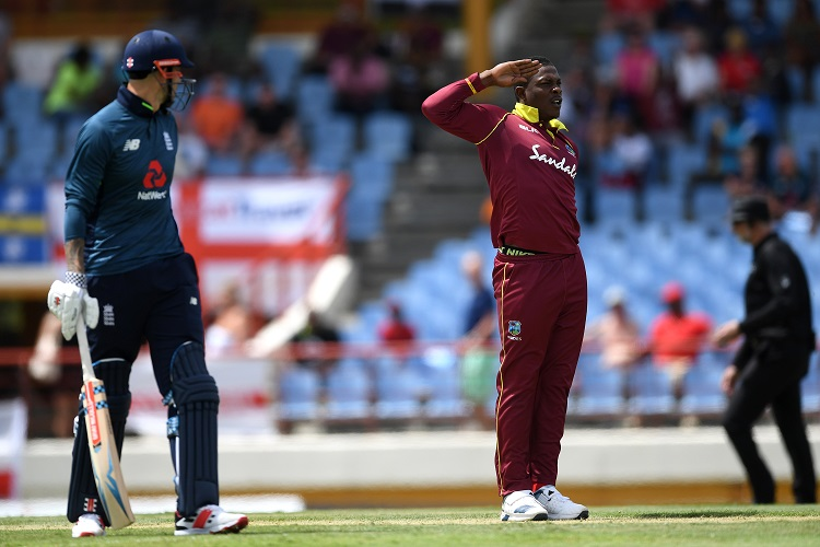 England West Indies Chris Gayle Shimron Hetmyer Eoin Morgan Andre Russell