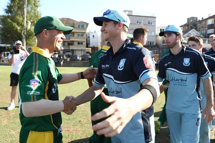 David Warner and Steve Smith are set to link up with the rest of the international squad for the first time since the infamous ball-tampering scandal in March 2018