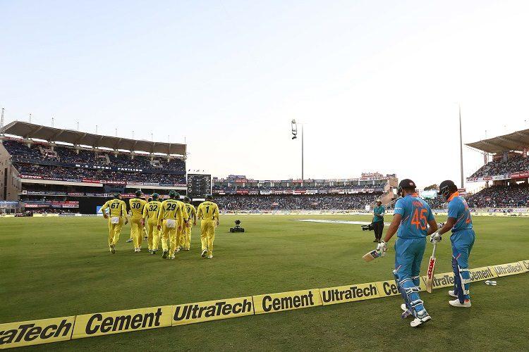 India Australia 4th ODI Virat Kohli
