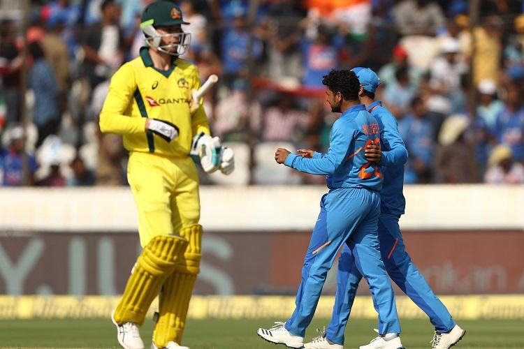 India Australia Virat Kohli Rohit Sharma MS Dhoni Jasprit Bumrah Kuldeep Yadav Kedar Jadhav