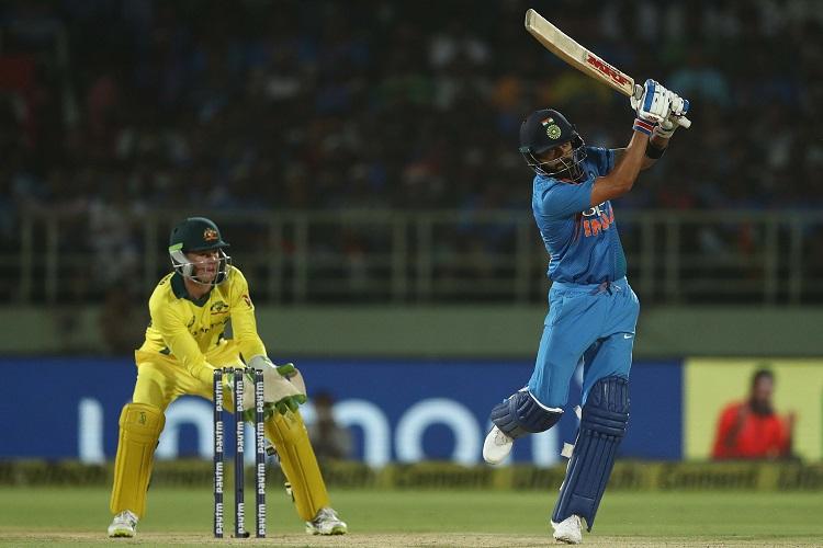 India Australia Virat Kohli MS Dhoni Vijay Shankar Rohit Sharma