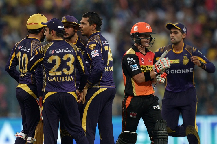 Indian Premier League IPL 2018 19 Kolkata Knight Riders Sunrisers Hyderabad KKR SRH