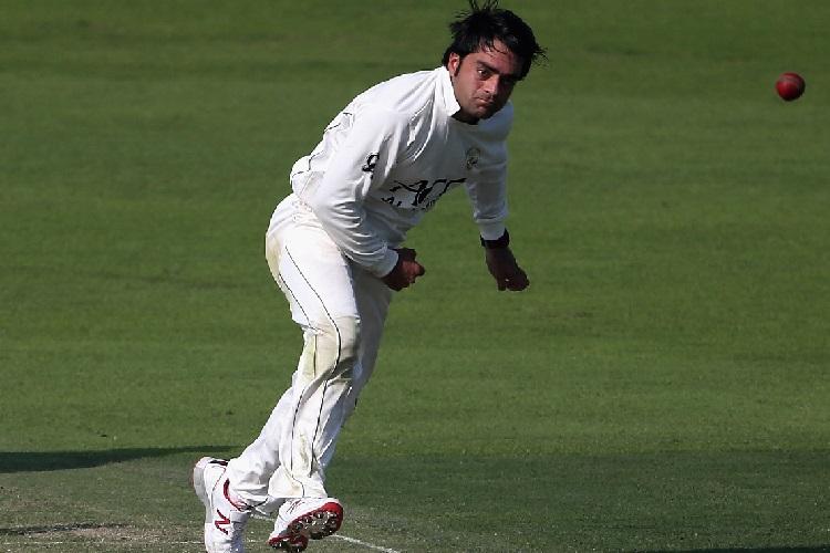 Afghanistan Ireland Test 2019 Rashid Khan