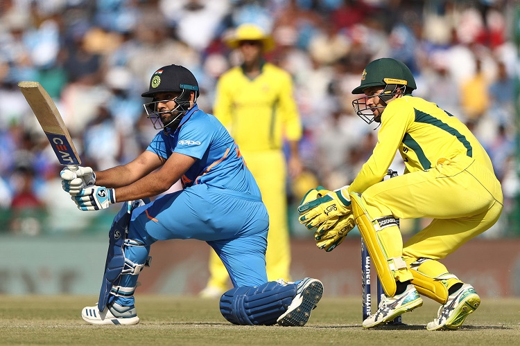5th ODI India Australia Virat Kohli Rohit Sharma Jasprit Bumrah