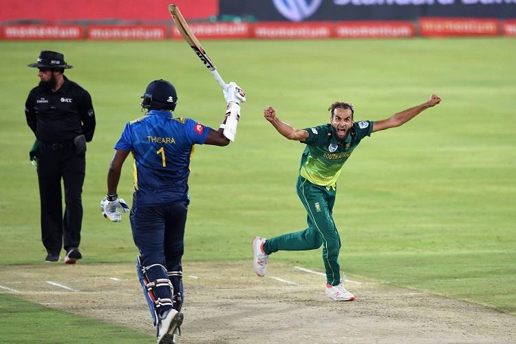 Imran Tahir South Africa Sri Lanka