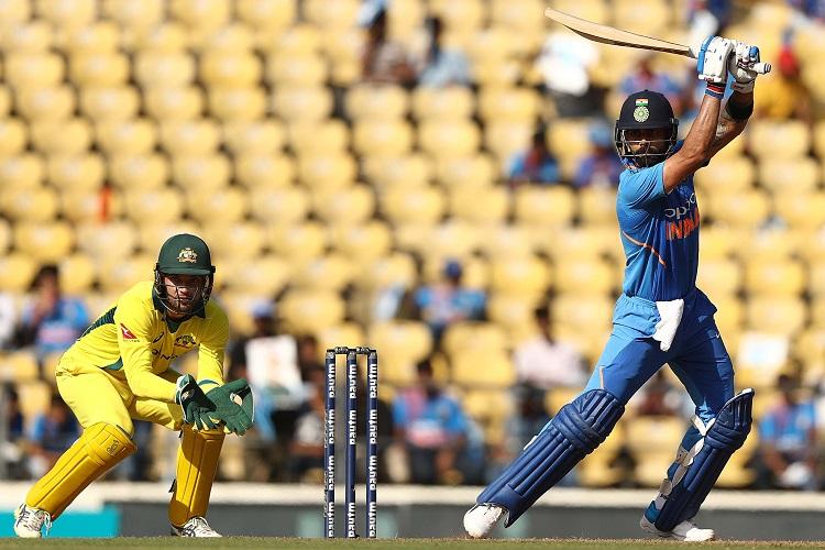India Australia Virat Kohli Rohit Sharma Vijay Shankar