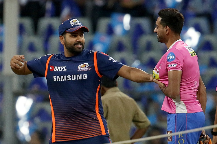 IPL 2019 12 Mumbai Indians MI Rajasthan Royals RR