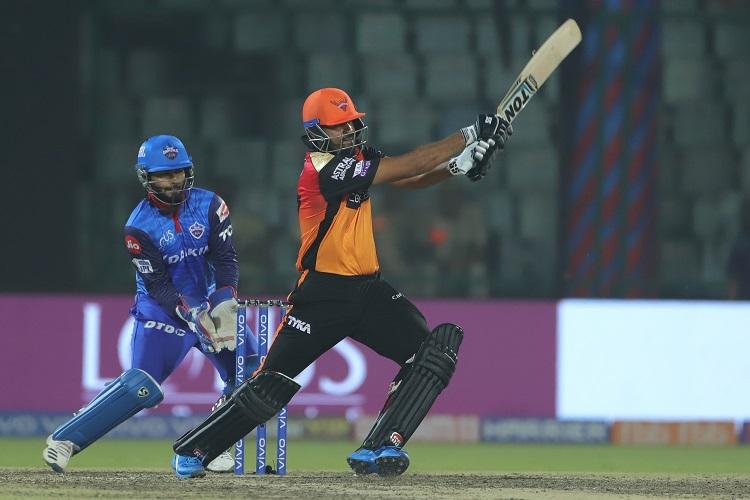 IPL 2019 12 Delhi Capitals Sunrisers Hyderabad DC SRH