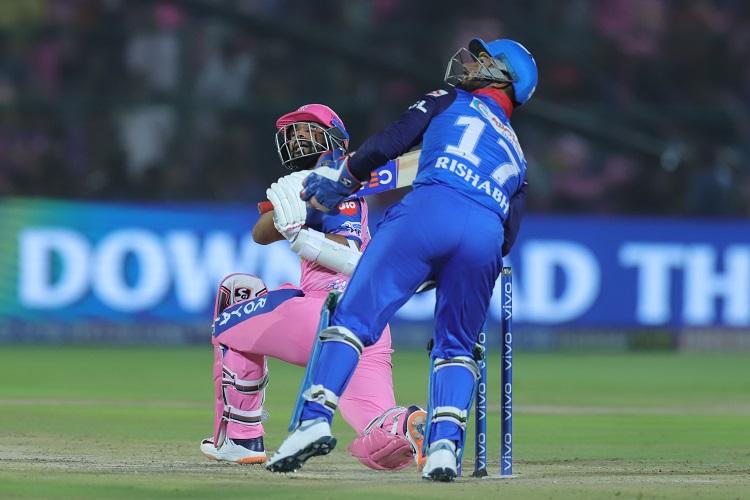 Ajinkya Rahane Delhi Capitals DC Rajasthan Royals RR IPL 2019 12