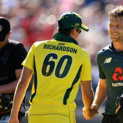 England Australia Jhye Richardson Jos Buttler
