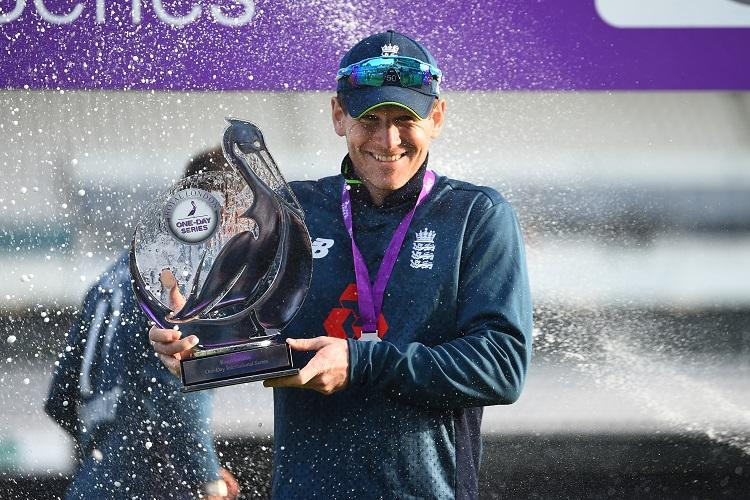 Eoin Morgan England Pakistan trophy