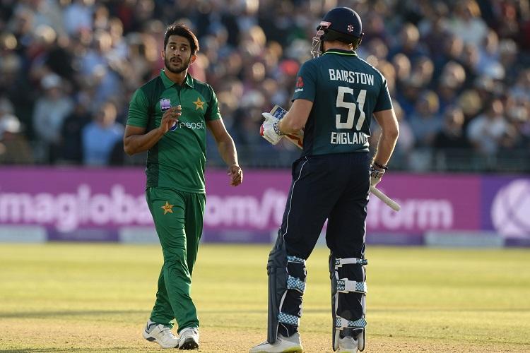 Pakistan England Hasan Ali Jonny Bairstow
