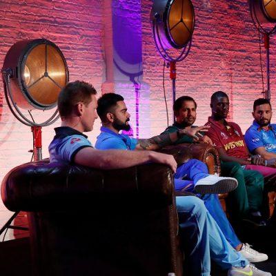 ICC Cricket World Cup captains England Australia South Africa West Indies Sri Lanka India Pakistan Sri Lanka Bangladesh Afghanistan
