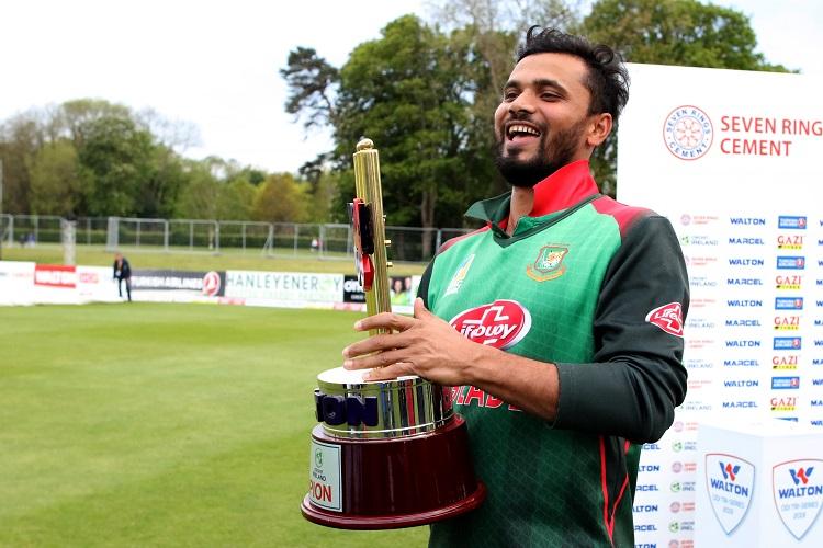 Mashrafe Mortaza Bangladesh Ireland Tri-Series