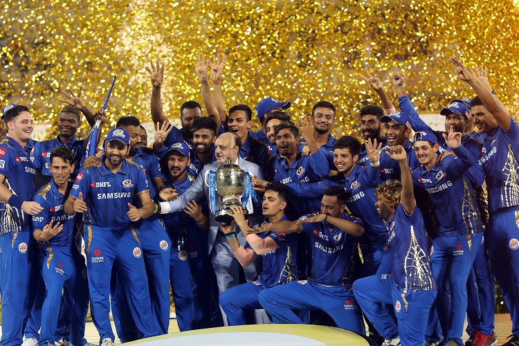 IPL 2019 12 Mumbai Indians MI champions