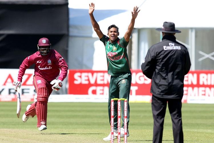 Mustafizur Rahman Bangladesh Ireland Tri-Series