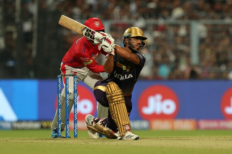 Kolkata Knight Riders KKR Kings XI Punjab KXIP Nitish Rana