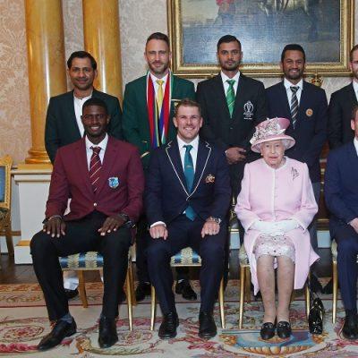 World Cup 2019 captains Queen Elizabeth II