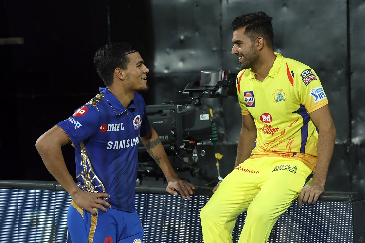 Deepak Rahul Chahar IPL 2019 12 Chennai Super Kings CSK Mumbai Indians MI