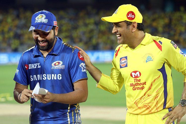 Rohit Sharma MS Dhoni IPL 2019 12 Chennai Super Kings Mumbai Indians