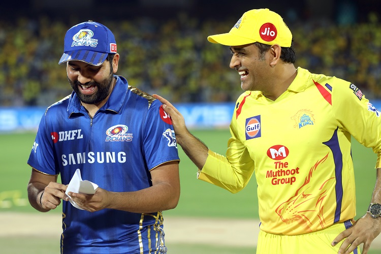Rohit Sharma MS Dhoni IPL 2019 12 Chennai Super Kings Mumbai Indians