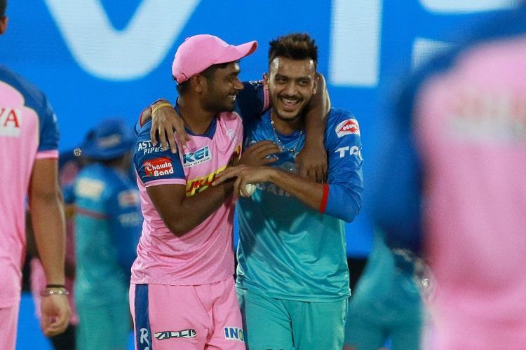 Sanju Samson Axar Patel Delhi Capitals DC Rajasthan Royals RR IPL 2019 12