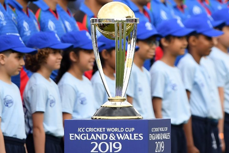 ICC World Cup 2019 trophy