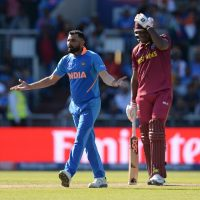 Mohammed Shami India West Indies