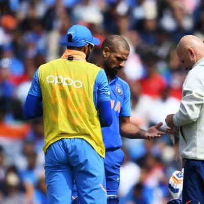 Shikhar Dhawan injury India