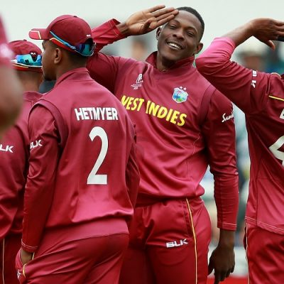 Sheldon Cottrell West Indies