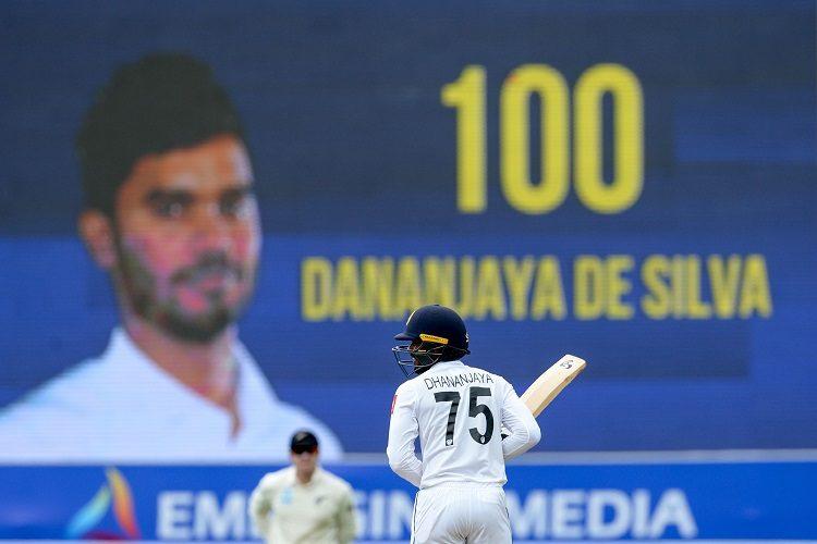 Dhananjaya de Silva 100 Sri Lanka New Zealand