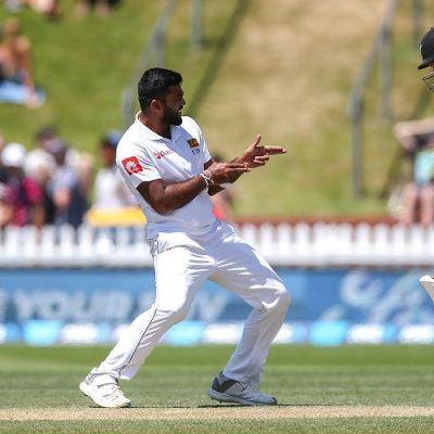 Lahiru Kumara BJ Watling New Zealand Sri Lanka