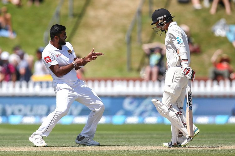 Lahiru Kumara BJ Watling New Zealand Sri Lanka