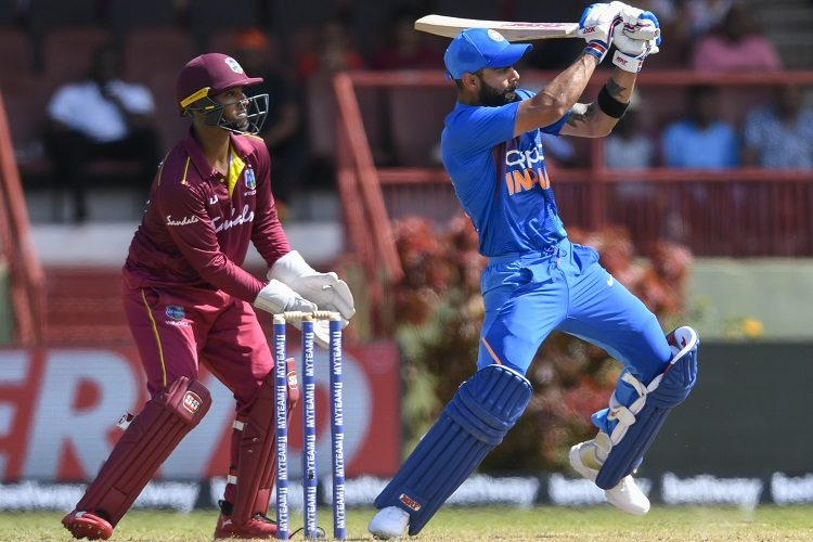 Nicholas Pooran Virat Kohli India West Indies