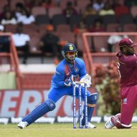 Kieron Pollard Rishabh Pant India West Indies