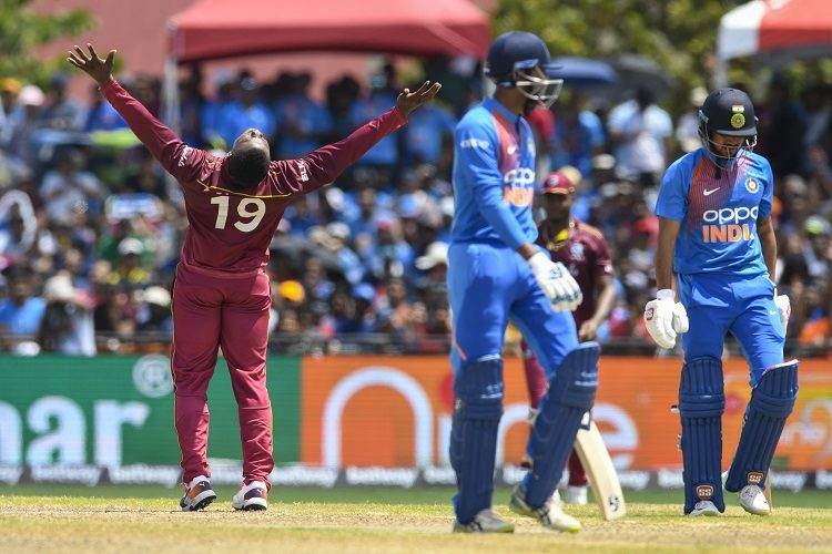 Sheldon Cottrell India West Indies
