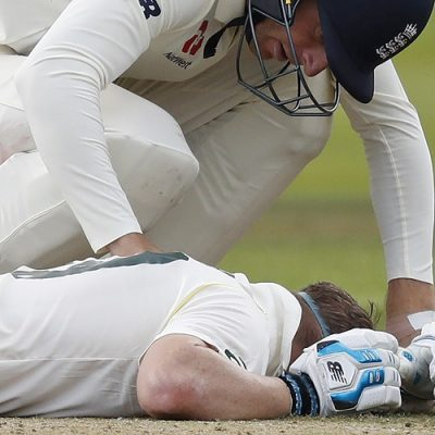 Steven Smith injury England Australia Ashes Lord's