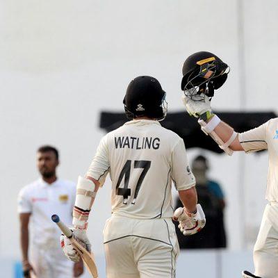 Tom Latham 100 Sri Lanka New Zealand