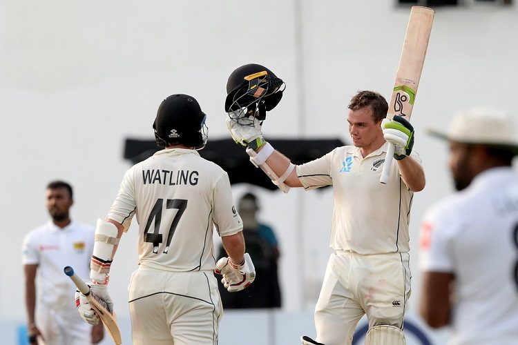 Tom Latham 100 Sri Lanka New Zealand