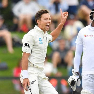 Trent Boult Angelo Mathews New Zealand Sri Lanka