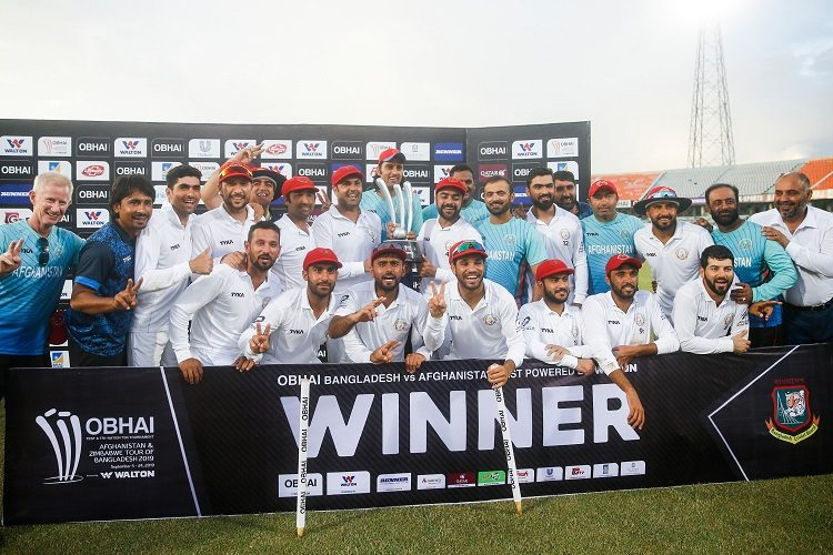 Afghanistan Test squad win Bangladesh