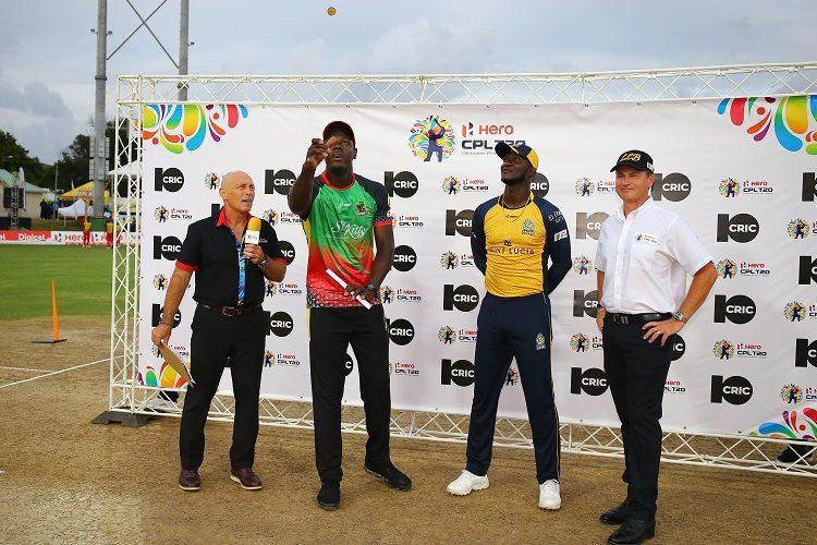 Carlos Brathwaite Jason Holder St Lucia Zouks St Kitts and Nevis Patriots Caribbean Premier League CPL