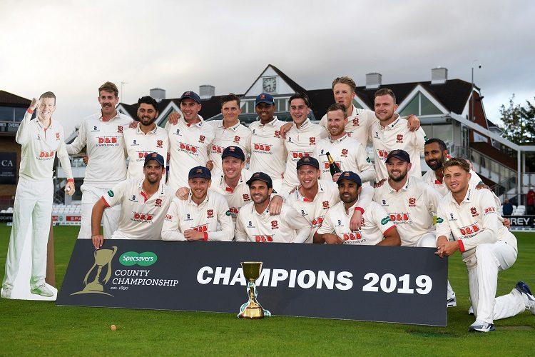 Essex County Championship champions 2019
