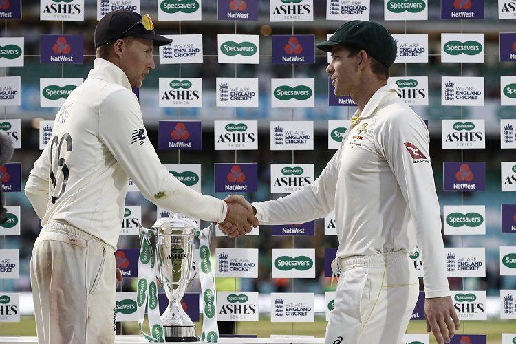 Joe Root Tim Paine England Australia Ashes 2019