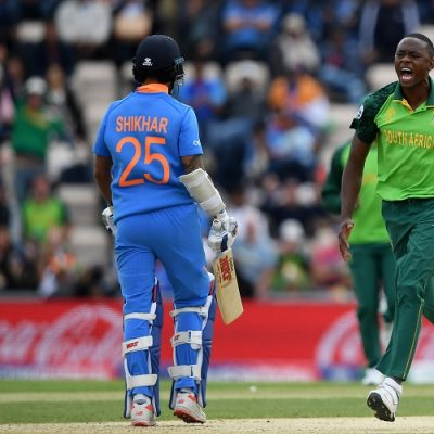Kagiso Rabada India South Africa