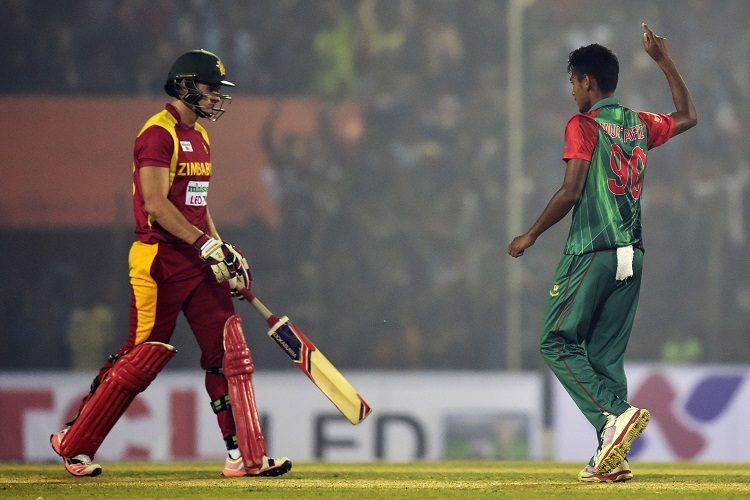 Mustafizur Rahman Bangladesh Zimbabwe