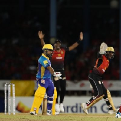 Fawad Ahmed Trinbago Knight Riders Barbados Tridents CPL Caribbean Premier League 2019